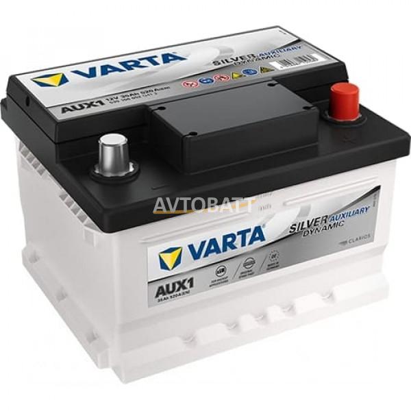Аккумулятор VARTA 35e 535 106 052 AUXILIARY-35Ач (AUX1) A2305410001