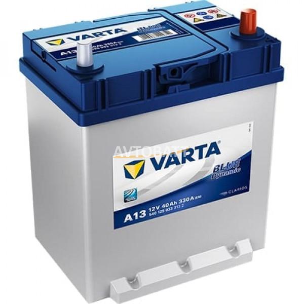 Аккумулятор VARTA 40e 540 125 033 Blue dynamic-40 Ач PFL (A13)