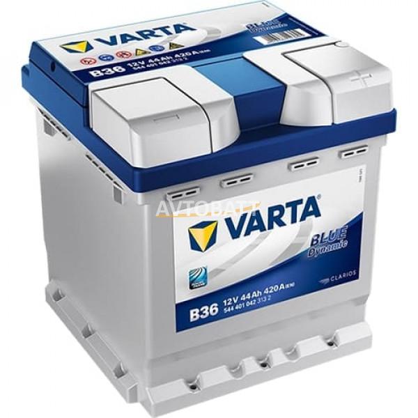 Аккумулятор VARTA 44e 544 401 042 Blue dynamic-44Ач (B36)