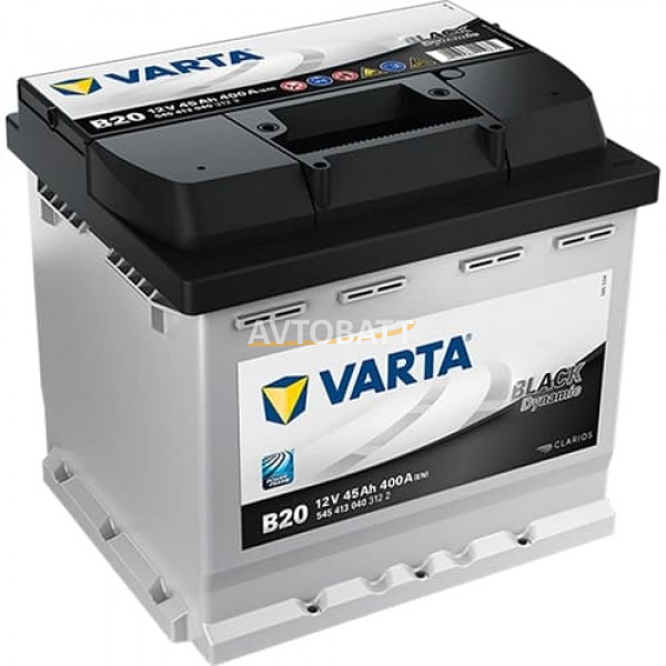 Аккумулятор VARTA 45 545 413 040 Black dynamic-45Ач (B20)