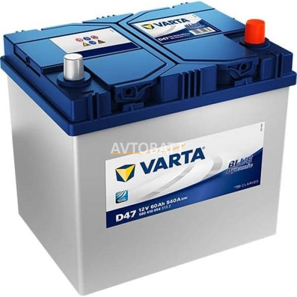 Аккумулятор VARTA 60е 560 410 054 Blue dynamic -60Ач (D47)