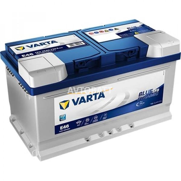 Аккумулятор VARTA 75е 575 500 073 Blue dynamic EFB (E46)