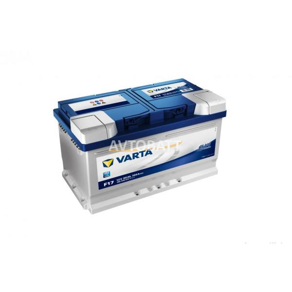 Аккумулятор VARTA 80e 580 406 074 Blue dynamic-80Ач (F17)