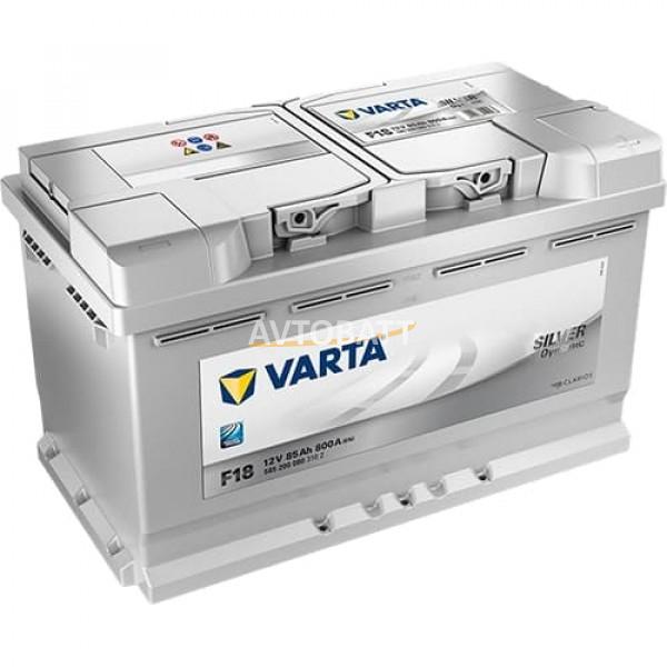 Аккумулятор VARTA 85e 585 200 080 Silver dynamic-85Ач (F18)