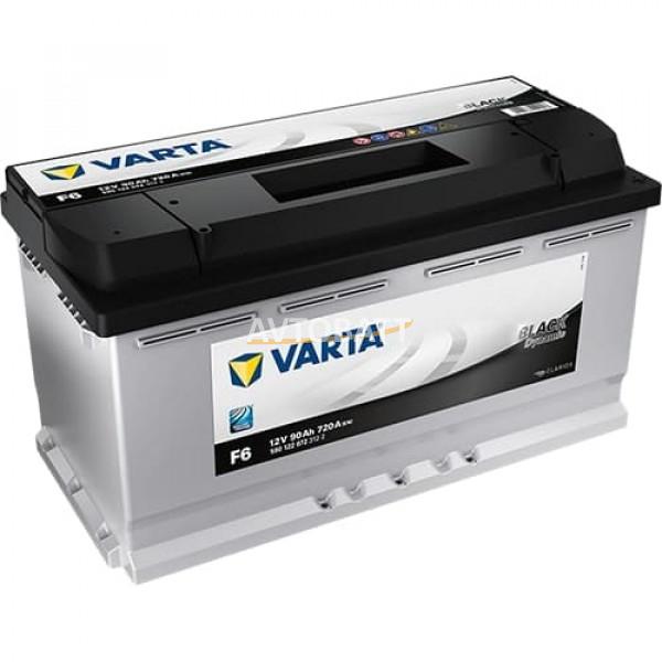 Аккумулятор VARTA 90е 590 122 072 Black dynamic-90Ач (F6)