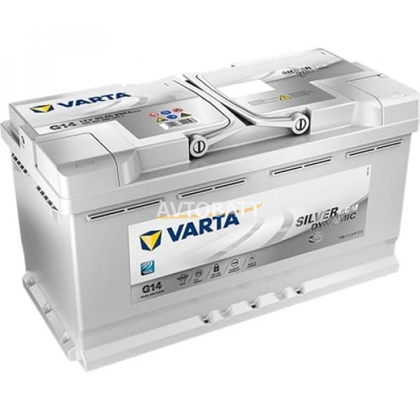 Аккумулятор VARTA 95e 595 901 085 Silver dynamic AGM (G14)