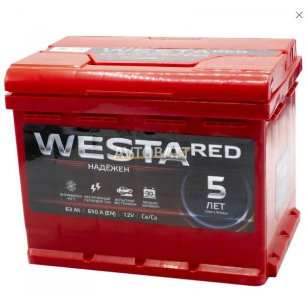 Аккумулятор WESTA 63 Ah