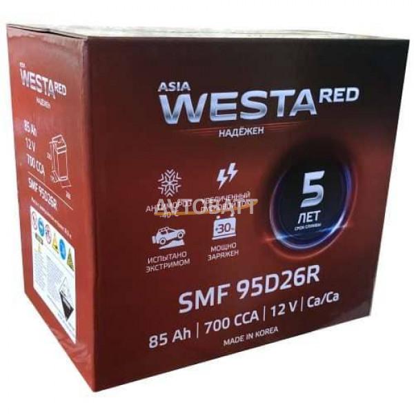 Аккумулятор WESTA Азия SMF 80D23L