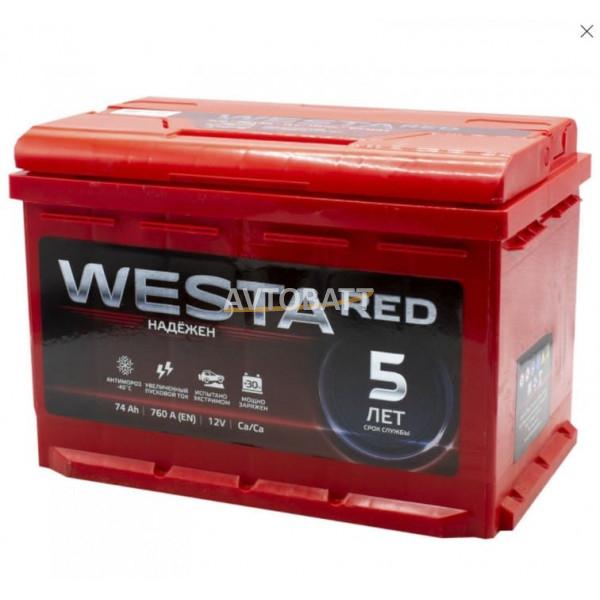 Аккумулятор WESTA 74 Ah