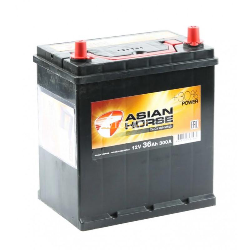 Аккумулятор Asian Horse 6СТ-36.0 тонк.кл/бортик