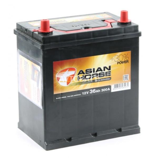 Аккумулятор Asian Horse 6СТ-36.1 тонк.кл/бортик