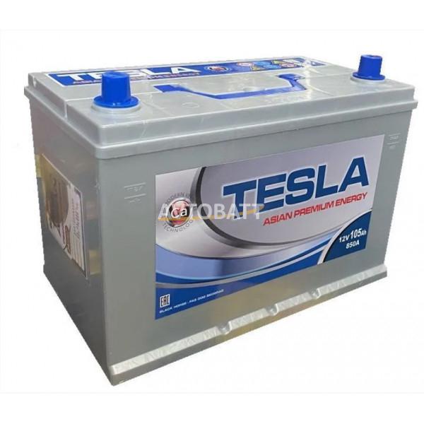 Аккумулятор TESLA ASIAN PREMIUM ENERGY 6СТ-105.0 бортик