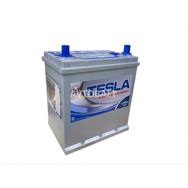 Аккумулятор TESLA ASIAN PREMIUM ENERGY 6СТ-40.0 тонк.кл/бортик