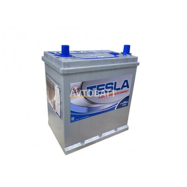 Аккумулятор TESLA ASIAN PREMIUM ENERGY 6СТ-40.1 тонк.кл/бортик