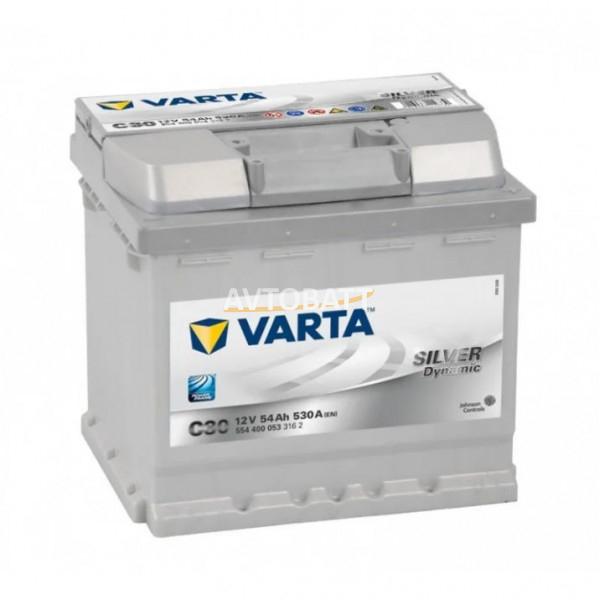 Аккумулятор Varta Silver Dynamic 6СТ-54.0  (554 400 053)