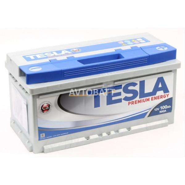 Аккумулятор TESLA PREMIUM ENERGY 6СТ-100.0 низкая