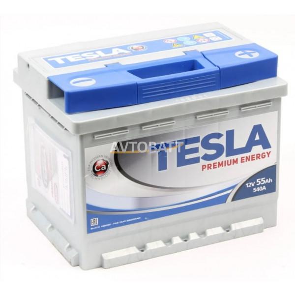 Аккумулятор TESLA PREMIUM ENERGY 6СТ-55.0