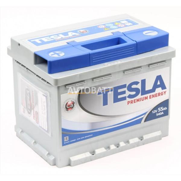 Аккумулятор TESLA PREMIUM ENERGY 6СТ-55.1
