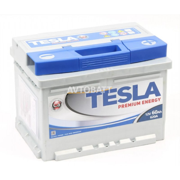 Аккумулятор TESLA PREMIUM ENERGY 6СТ-60.0