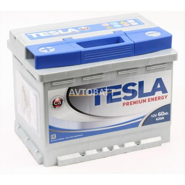 Аккумулятор TESLA PREMIUM ENERGY 6СТ-60.1