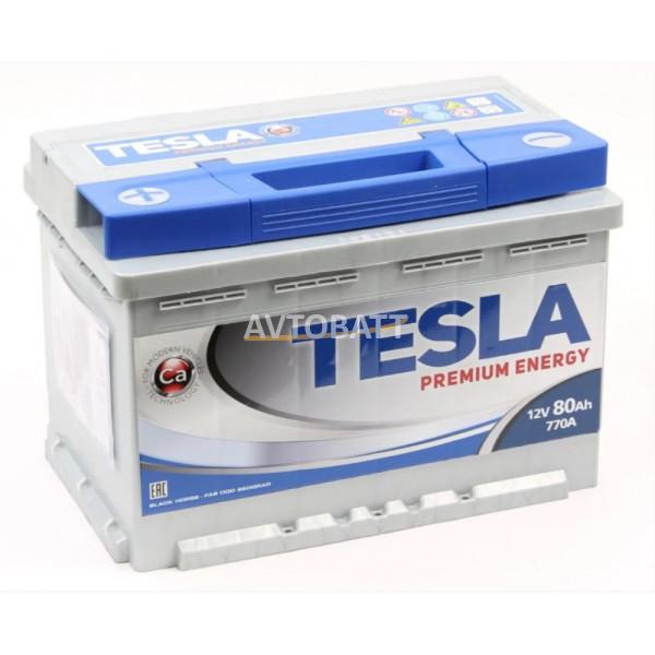 Аккумулятор TESLA PREMIUM ENERGY 6СТ-80.1