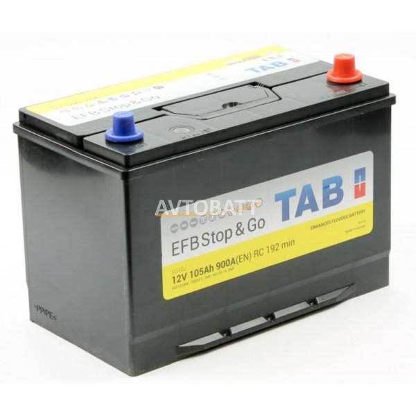 Аккумулятор TAB EFB Stop&Go 6СТ-105.0 (60518) яп.ст.