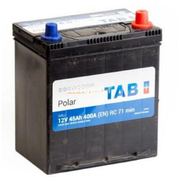 Аккумулятор TAB Polar  6СТ-45.0 (54520) яп.. ст./тонк. клеммы/бортик