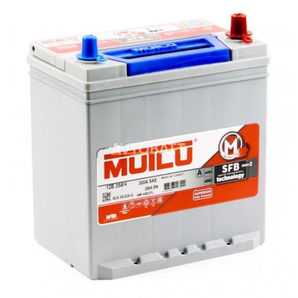 Аккумулятор Mutlu SFB M2 6СТ-35.0 (40B20FL) бортик