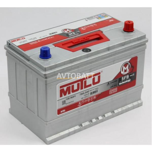 Аккумулятор Mutlu SFB M2 6СТ-90.0 (105D31FL) бортик