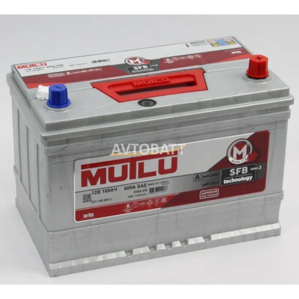 Аккумулятор Mutlu SFB M3 6СТ-100.0 (115D31FL) бортик