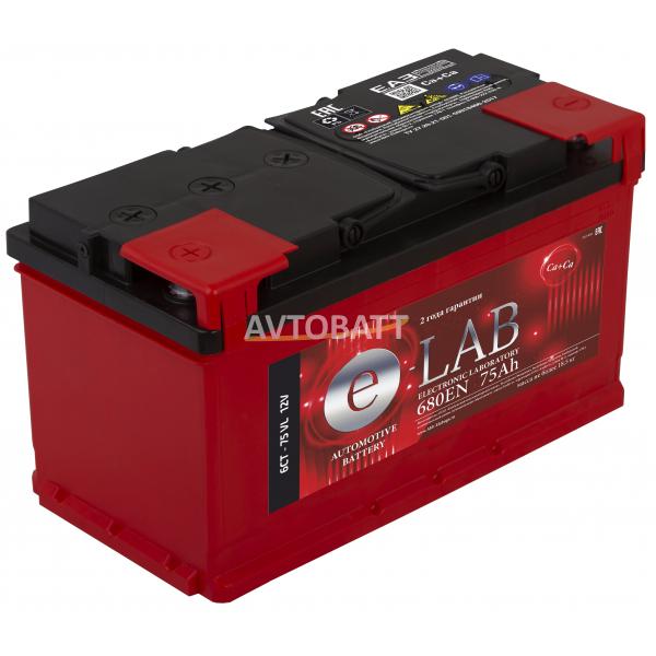 Аккумулятор ELAB 75 Ah (п/п)