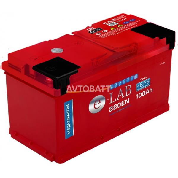 Аккумулятор ELAB EFB 100 Ah (о/п)