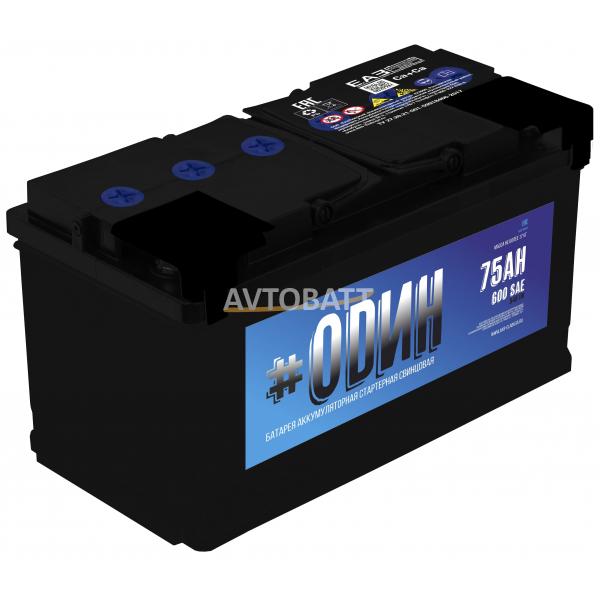Аккумулятор ODIN 75 (p)