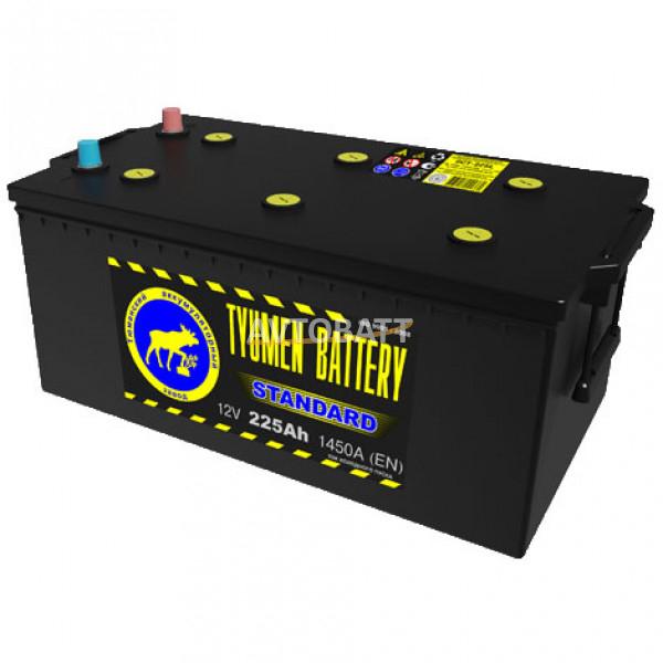 Аккумулятор TYUMEN STANDARD 225 (е) (конус)