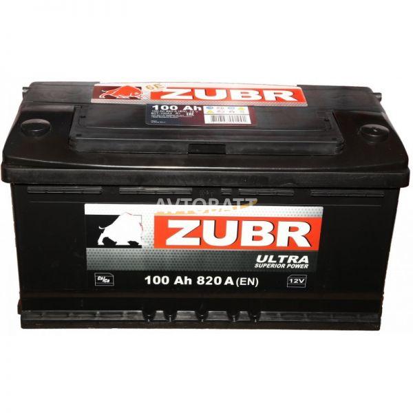 Аккумулятор ZUBR ULTRA 100 (е)