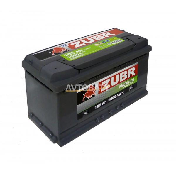 Аккумулятор ZUBR PREMIUM 105 (е)