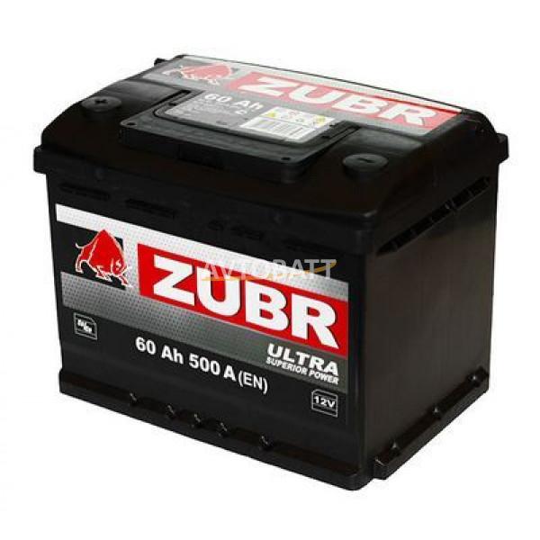 Аккумулятор ZUBR ULTRA 60 нов (е)