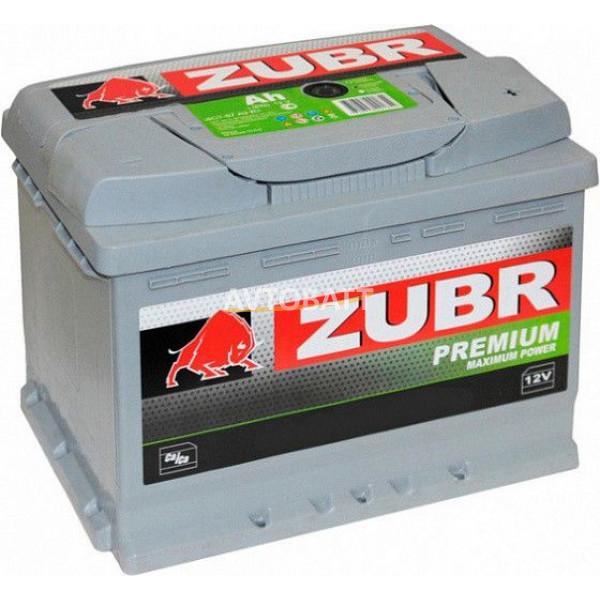 Аккумулятор ZUBR PREMIUM 65 нов низк (p)